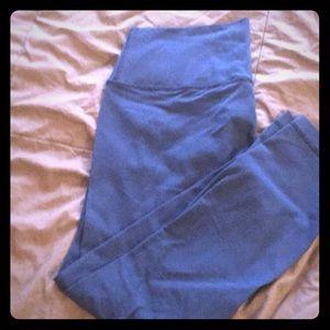 🍋🍋🍋🍋 lululemon high times 7/8 pant- True Navy